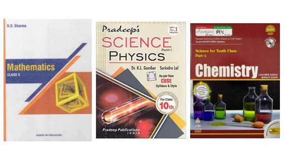 Best Reference Books CBSE Class 10 – Maths, Physics, Chemistry