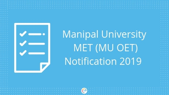 MU OET Notification 2019