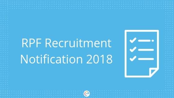RPF Recruitment Notification