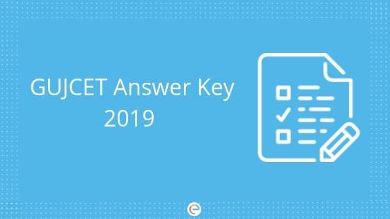 GUJCET Answer Key 2019