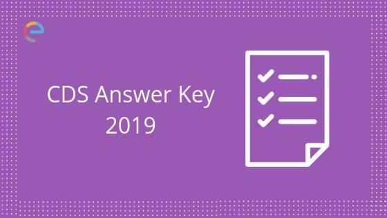 cds answer key 2019 embibe