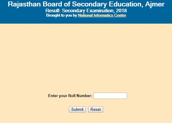 Steps to check RBSE Class 10 Result(1)