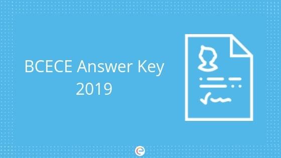 BCECE Answer Key