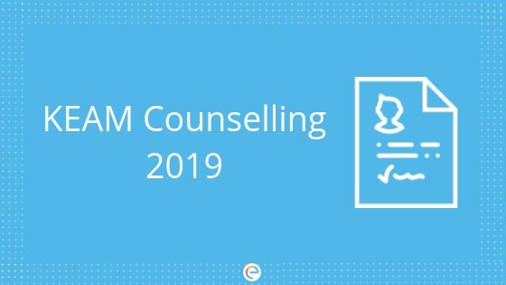 KEAM Counselling 2019