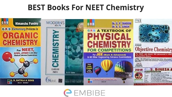 Best NEET Books for 2019 – Physics, Chemistry, Biology Along With