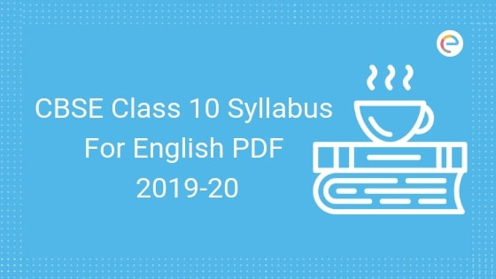 CBSE Class 10 Syllabus For English
