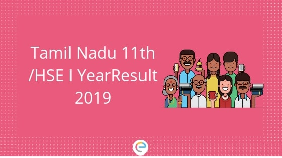 Tamil Nadu 11th Result 2019