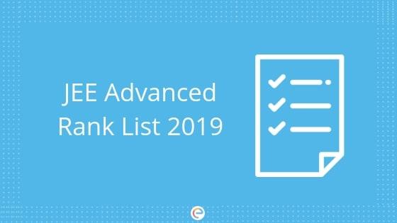 jee advanced rank list