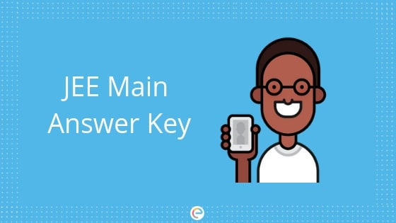 jee main answer key 2019