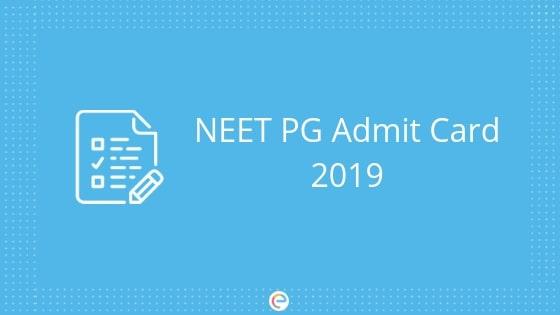 neet mds admit card 2019 download