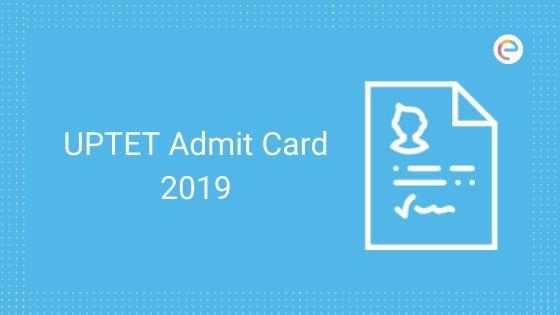 UPTET Admit Card 2019