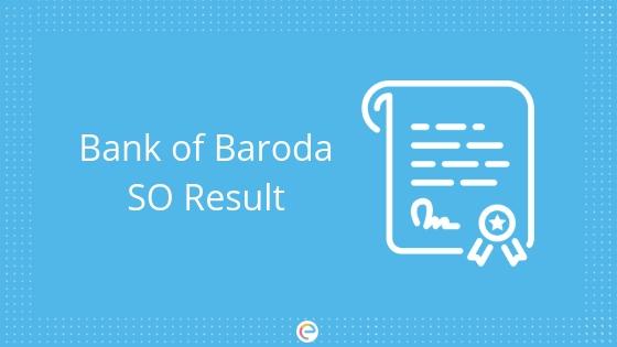 Bank of Baroda so result