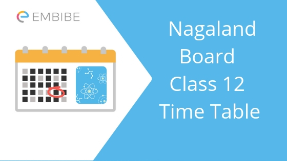 Nagaland board class 12 time table