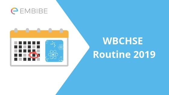 WBCHSE Routine 2019: Check West Bengal Higher Secondary Exam Routine Here