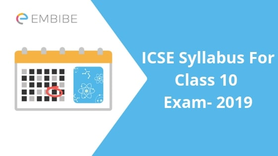 ICSE Syllabus For Class 10