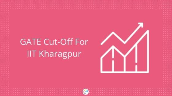 GATE Cutoff For IIT Kharagpur