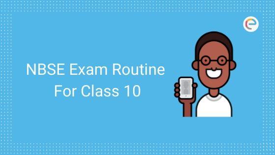 nbse class 10 routine