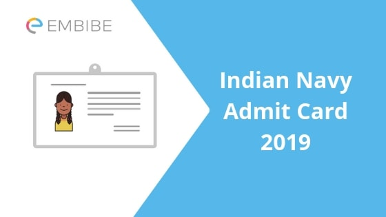 Indian Navy Admit Card 2019 |Download Indian Navy SSR Admit