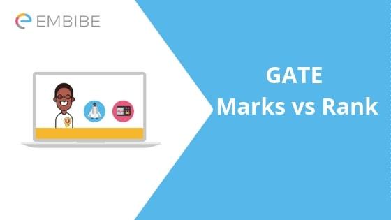 GATE Marks vs Rank- Embibe