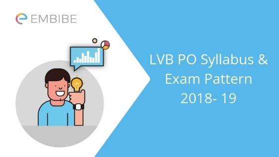 Lakshmi Vilas Bank PO Syllabus & Exam Pattern-Embibe