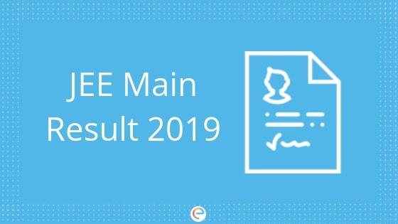 JEE Main Result 2019 For Paper 1