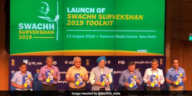 swachh-survekshan-2019-launched-hardeep-singh-puri-swachh-bharat-mission-twitter-660x330
