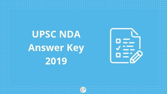NDA Answer Key 2019 Released- Download NDA Question Paper & Solutions-Sets A,B,C,D