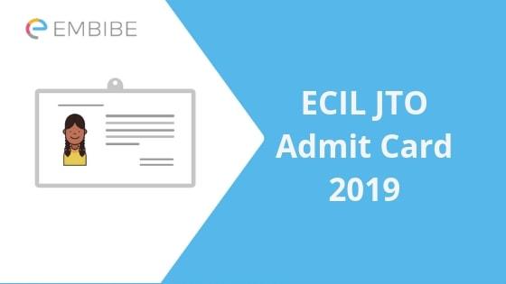 ECIL JTO Admit Card