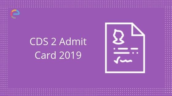 CDS admit card embibe
