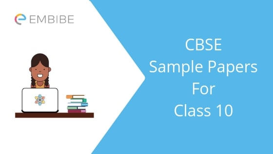 Latest CBSE Sample Papers For Class 10 PDF (All Subjects