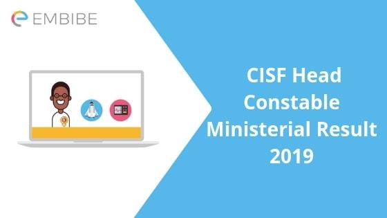 cisf result