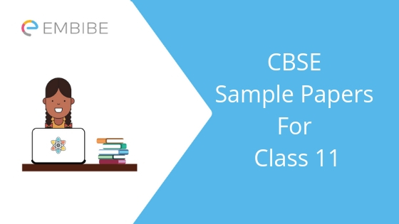 CBSE Sample Papers For Class 11