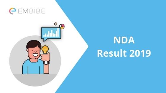 NDA Result 2019-Embibe