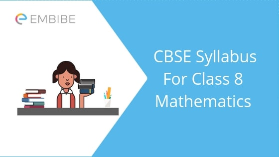 CBSE Syllabus For Class 8 Maths