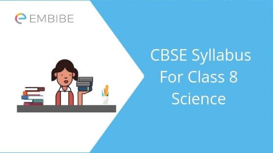 CBSE Syllabus For Class 8 Science