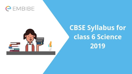 CBSE Syllabus for class 6 Science
