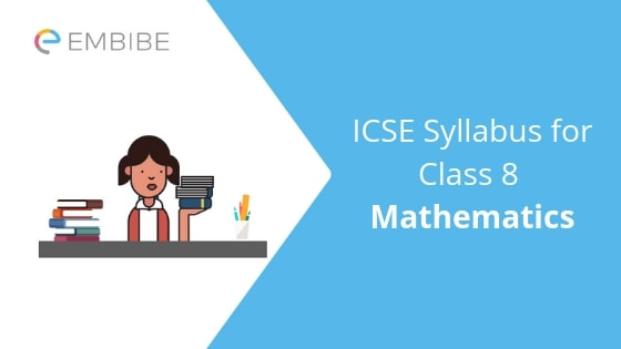 ICSE Syllabus For Class 8 Maths