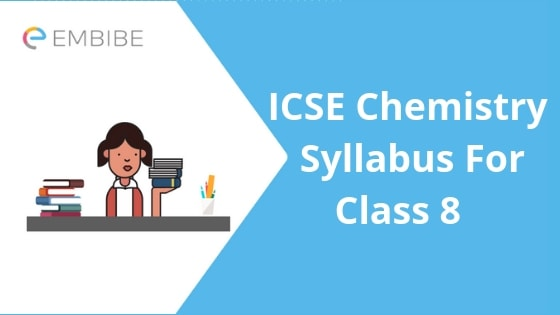 ICSE syllabus for class 8 chemistry