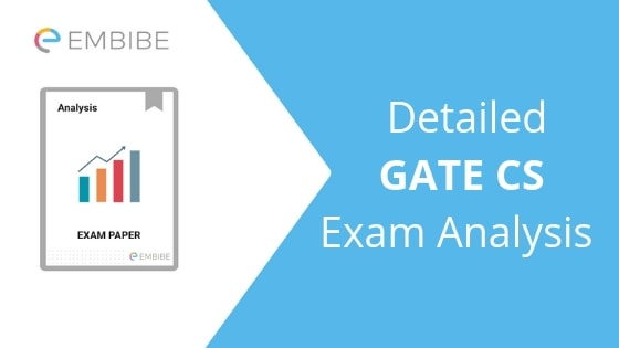 GATE CS Exam Analysis 2019