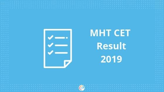 MHT CET Result