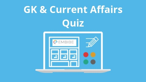 Todays Current Affairs Quiz & GK Questions 2019 for Banking