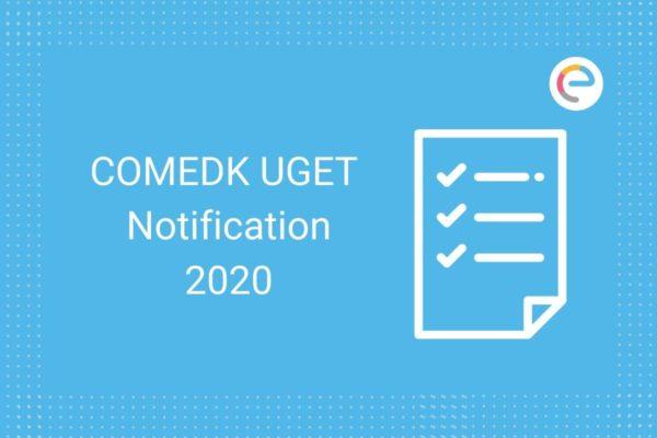 COMEDK UGET 2020