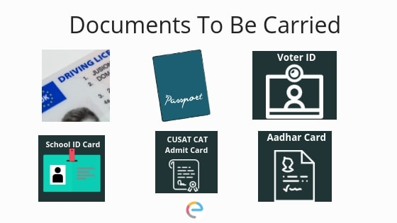 Documents To be carried