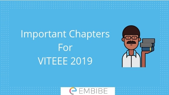 Important Chapters For VITEEE