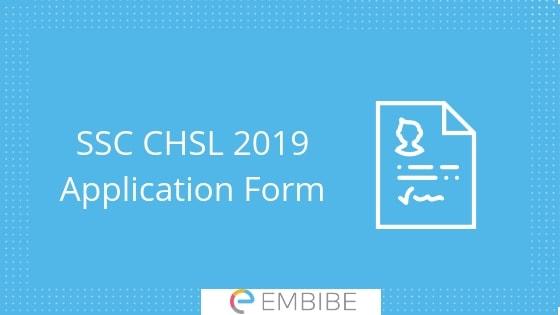 SSC CHSL Application Form