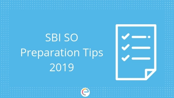 SBI SO Preparation