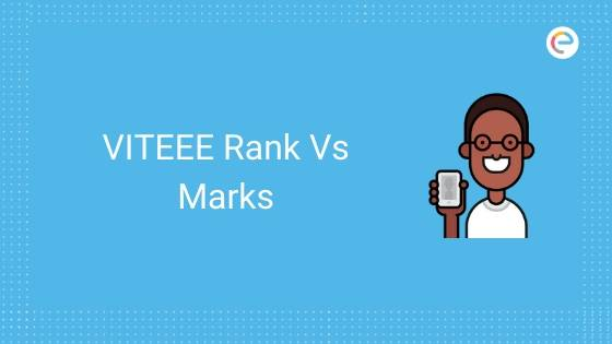 VITEEE Rank Vs Marks