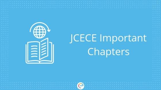 JCECE Important Chapters