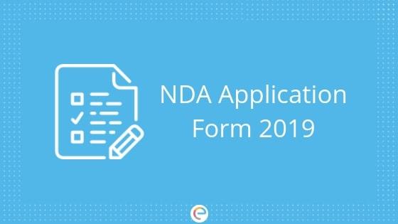 NDA Application Form 2019: Check How To Fill NDA Form