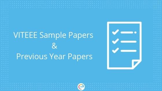 VITEEE Sample Papers: Download Free VITEEE Sample Papers